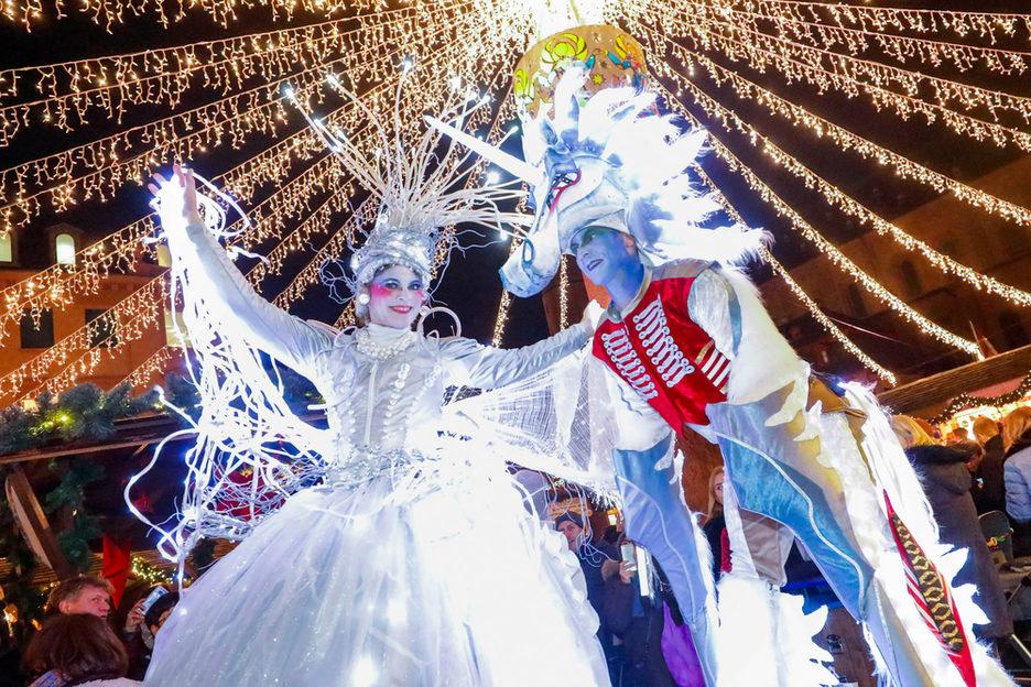 Eröffnung Weihnachtsmarkt Foto: Sascha Kopp